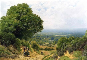 returning from the harvest by john clayton adams