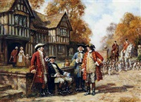 the meet at the manor by frank moss bennett