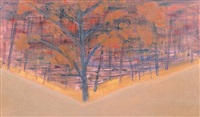 autumn by milton avery