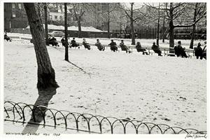 washington square, nyc by robert frank