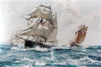a running fight by montague dawson