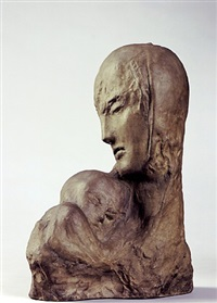 mother and child by wilhelm lehmbruck