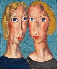 two heads by alfred henry maurer