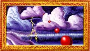 stormy weather by kenny scharf