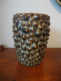 ceramic vase by axel johann salto