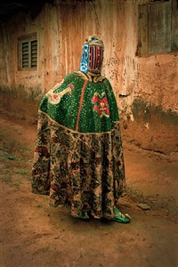 untitled (vodou series) by leonce raphael agbodjelou