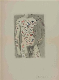 untitled (nude) by joe brainard
