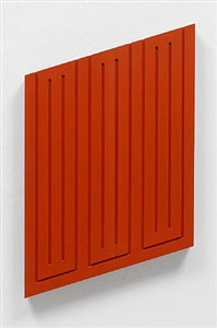 donald judd cadmium red by donald judd