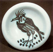 bird with tuft by pablo picasso