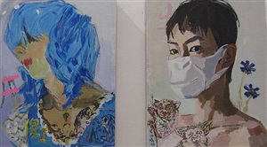 art stage singapore exhibition view 6 (sheng tianhong)