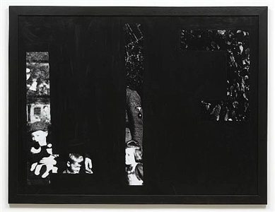 tableau noir by christian boltanski