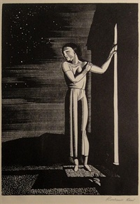 starry night by rockwell kent