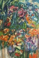 flores al atardecer by milagros argüello