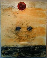 untitled (sun) by moshe gershuni