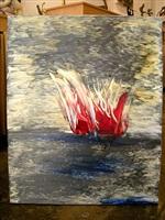 untitled (burning bush) by moshe gershuni