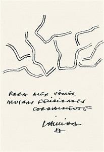 ohne titel (zeichnung für alex vömel) by eduardo chillida