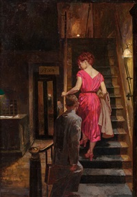 the farmer's hotel, paperback cover by james avati