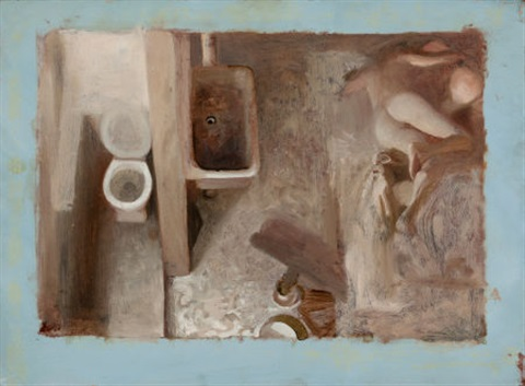 elegy (study) by vincent desiderio