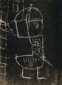 graffiti de la série viii, la magie by brassaï