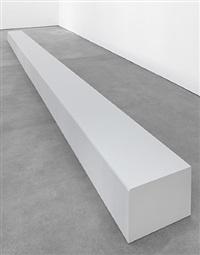 floor piece (bench) by robert morris