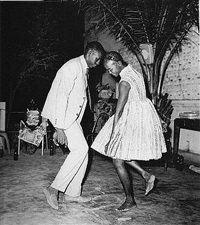 nuit de noël (christmas eve) by malick sidibé