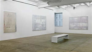 installation view: abstract paintings 2009 by gerhard richter