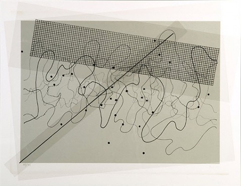 fontana mix (light grey) by john cage