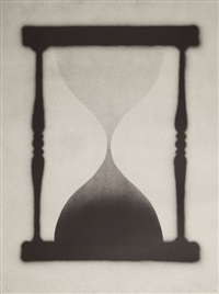 time is up by ed ruscha