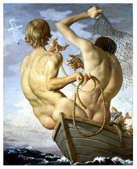 fishermen by john currin
