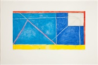 red-yellow-blue by richard diebenkorn