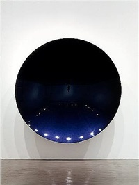 cyan to purple by anish kapoor