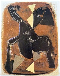 le cavalier noir (l'impazzata) by marino marini