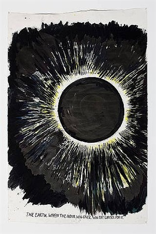 no title (the earth, when) by raymond pettibon
