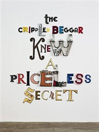 the crippled beggar knew a priceless secret by jack pierson