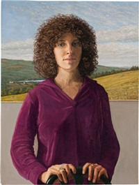 sheila levine by rackstraw downes