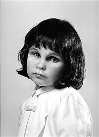 self portrait at three years old by gillian wearing