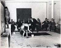 yves klein performance