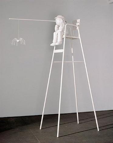 pinocchio figure chair by cosima von bonin