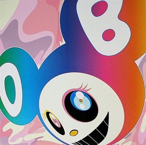 mr rainbow dob by takashi murakami