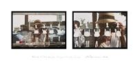 femmes de chambre en rang, la croisette, cannes by eve sonneman