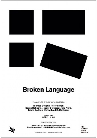 broken language