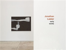 installation view by jonathan lasker