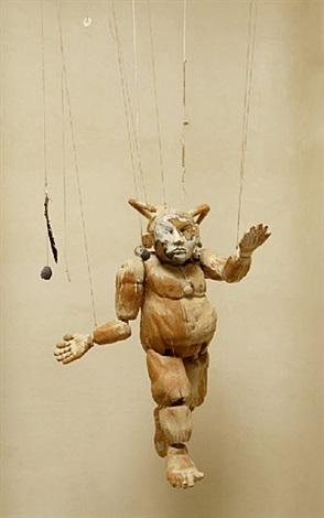 masked koshare series marionette by armond lara