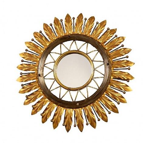 poillerat mirror by gilbert poillerat