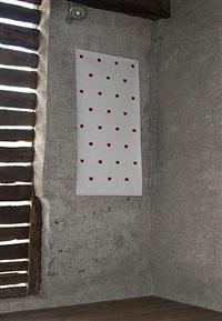 impronte di pennello nº 50 a intervalli di 30 cm by niele toroni