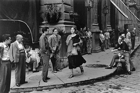black white by ruth orkin