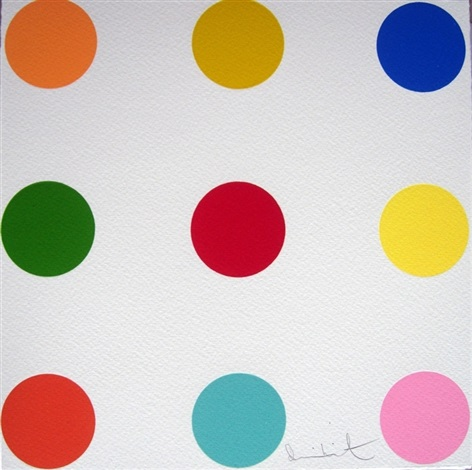 glycine cresol red by damien hirst
