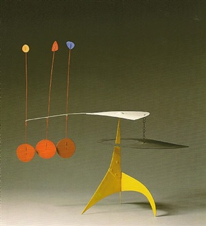 yellow spike by alexander calder
