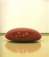 blood solid by anish kapoor