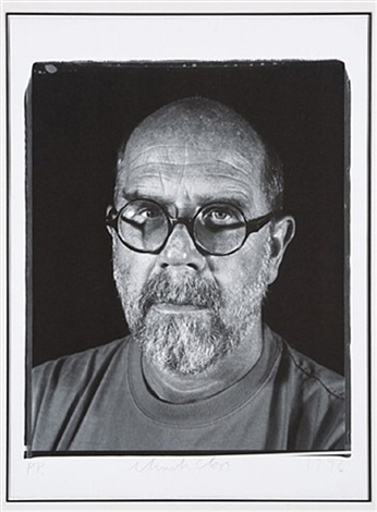 untitled (self portrait) by chuck close